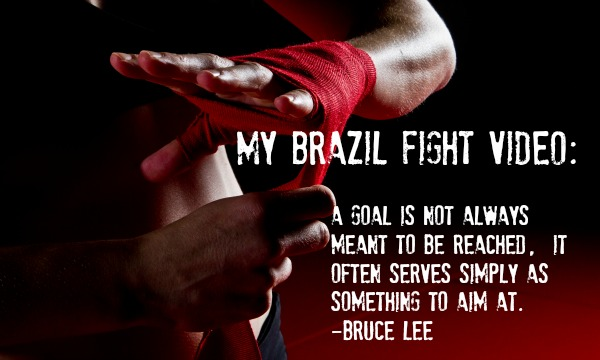my brazil fight video