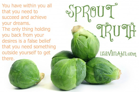 sprouttruth all you need