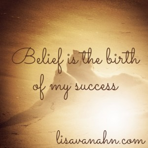 belief is the birth-accelerated learning