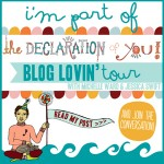 PYL: The Declaration Of You Blog Lovin' Tour