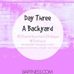 day three a backyard home