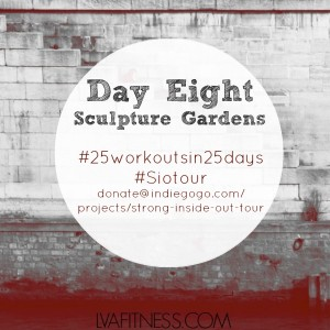 day eight sculpture gardens home