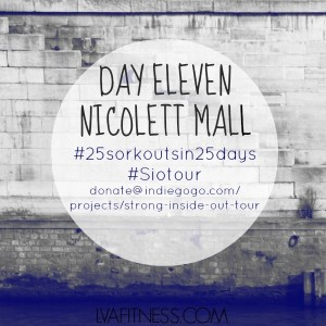 day eleven nicollet mall workout home