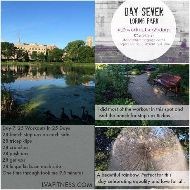 day seven loring park workout