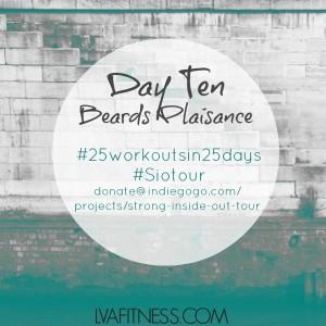 day ten beards plaisance workout home