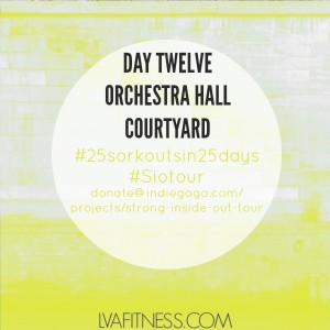 day twelve orchestra hall home