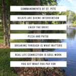 Commandments of St. Pete's